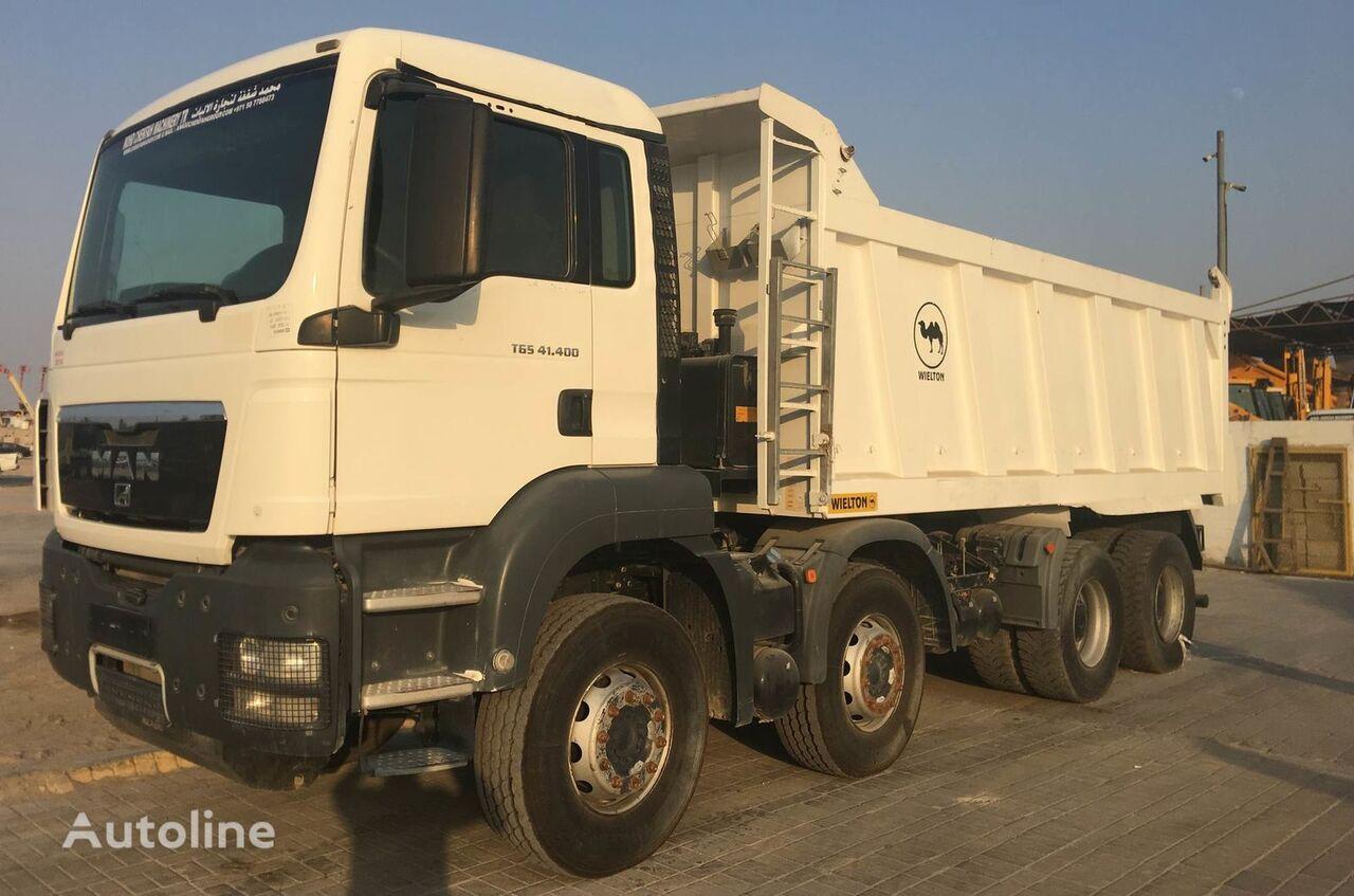 MAN TGS 41.400 kipper vrachtwagen