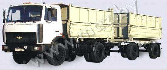 nieuw MAZ 5551 (A2, 47 ) kipper vrachtwagen