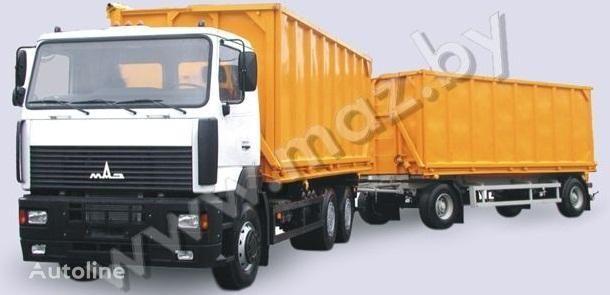nieuw MAZ 6501A5 avtopoezd kipper vrachtwagen