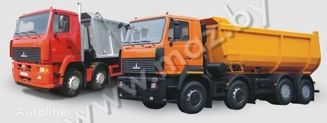 nieuw MAZ 6516A8 kipper vrachtwagen