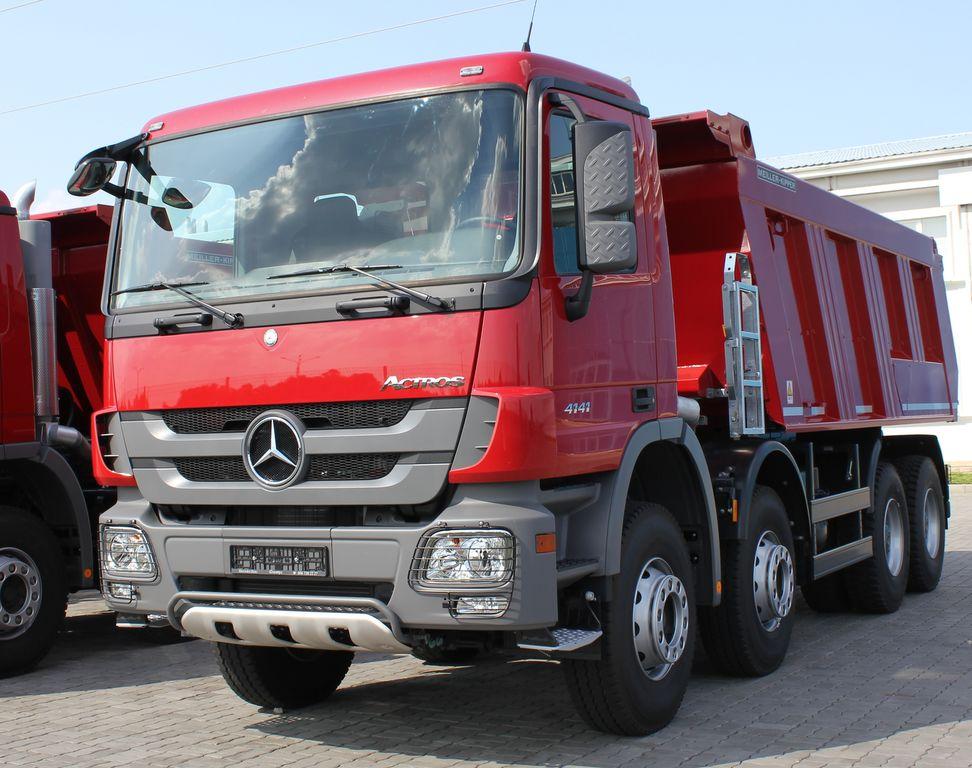 nieuw MERCEDES-BENZ Actros 4141 K kipper vrachtwagen