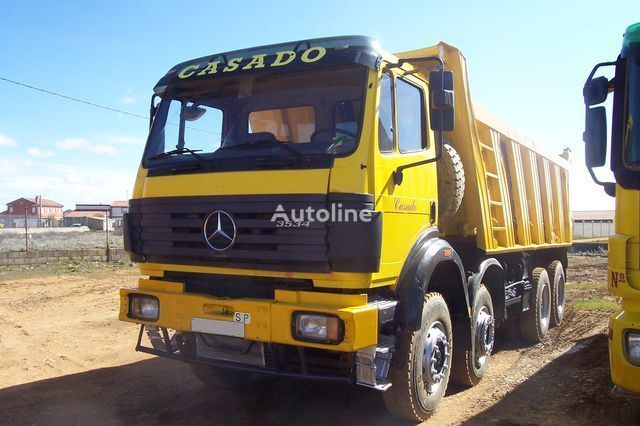 MERCEDES-BENZ SK 3534 K kipper vrachtwagen