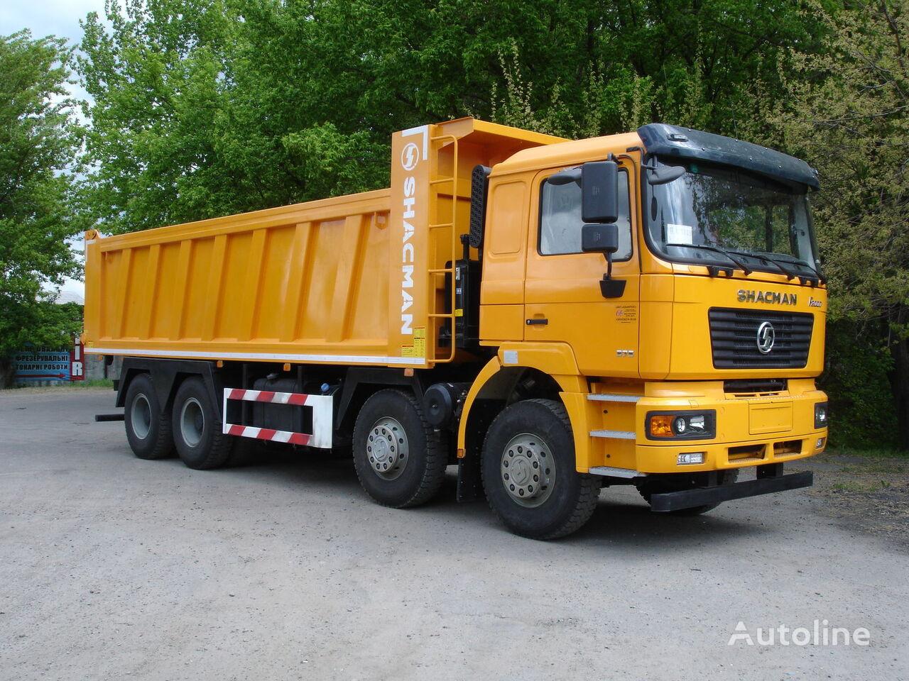 nieuw SHACMAN SHAANXI F2000 kipper vrachtwagen
