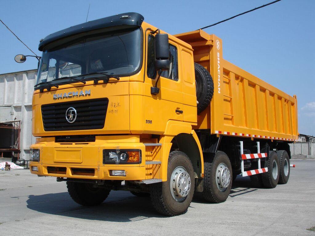 nieuw SHACMAN SHAANXI SX33186T366 kipper vrachtwagen