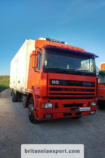 DAF 95 360 ATI left hand drive ZF manual pump 19 ton  koelwagen vrachtwagen