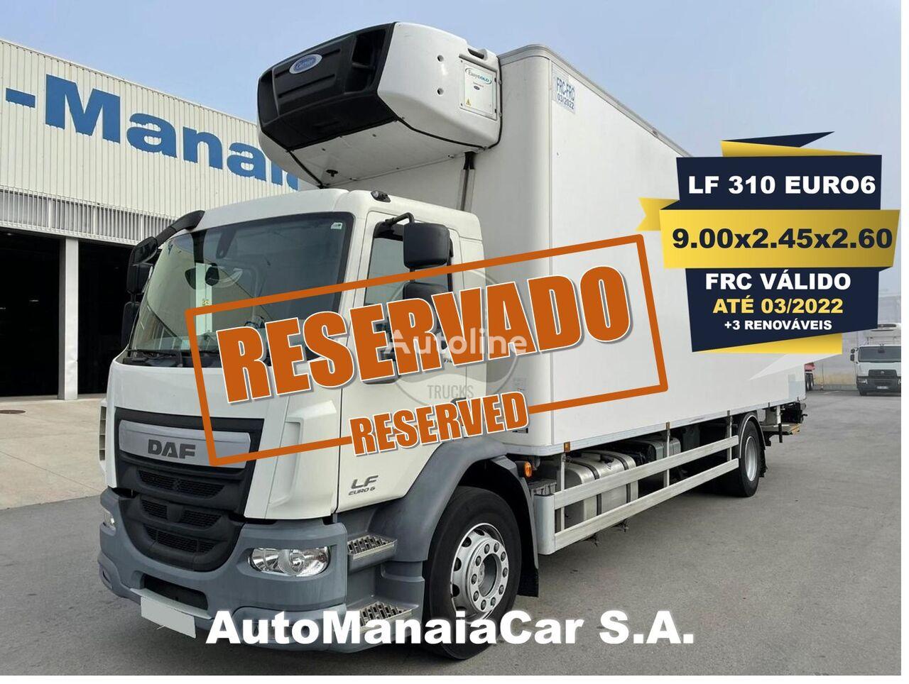 DAF LF 310 EURO6 koelwagen vrachtwagen