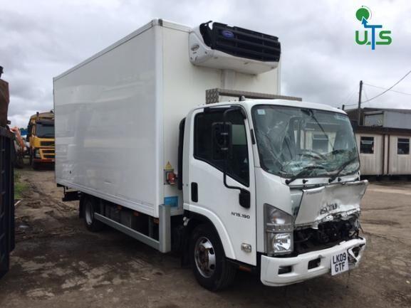 ISUZU N75 190 BREAKING koelwagen vrachtwagen voor onderdelen