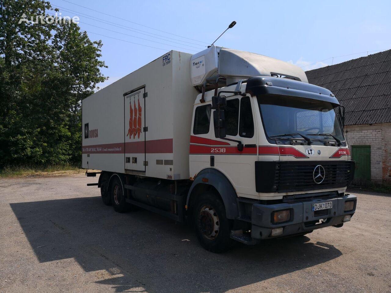 MERCEDES-BENZ SK 2538 RETARDER koelwagen vrachtwagen