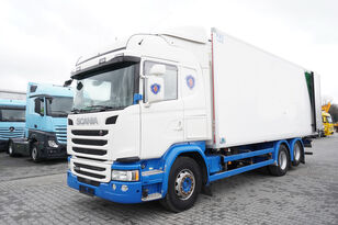 SCANIA G490, Meat hooks , 19 EPAL  koelwagen vrachtwagen