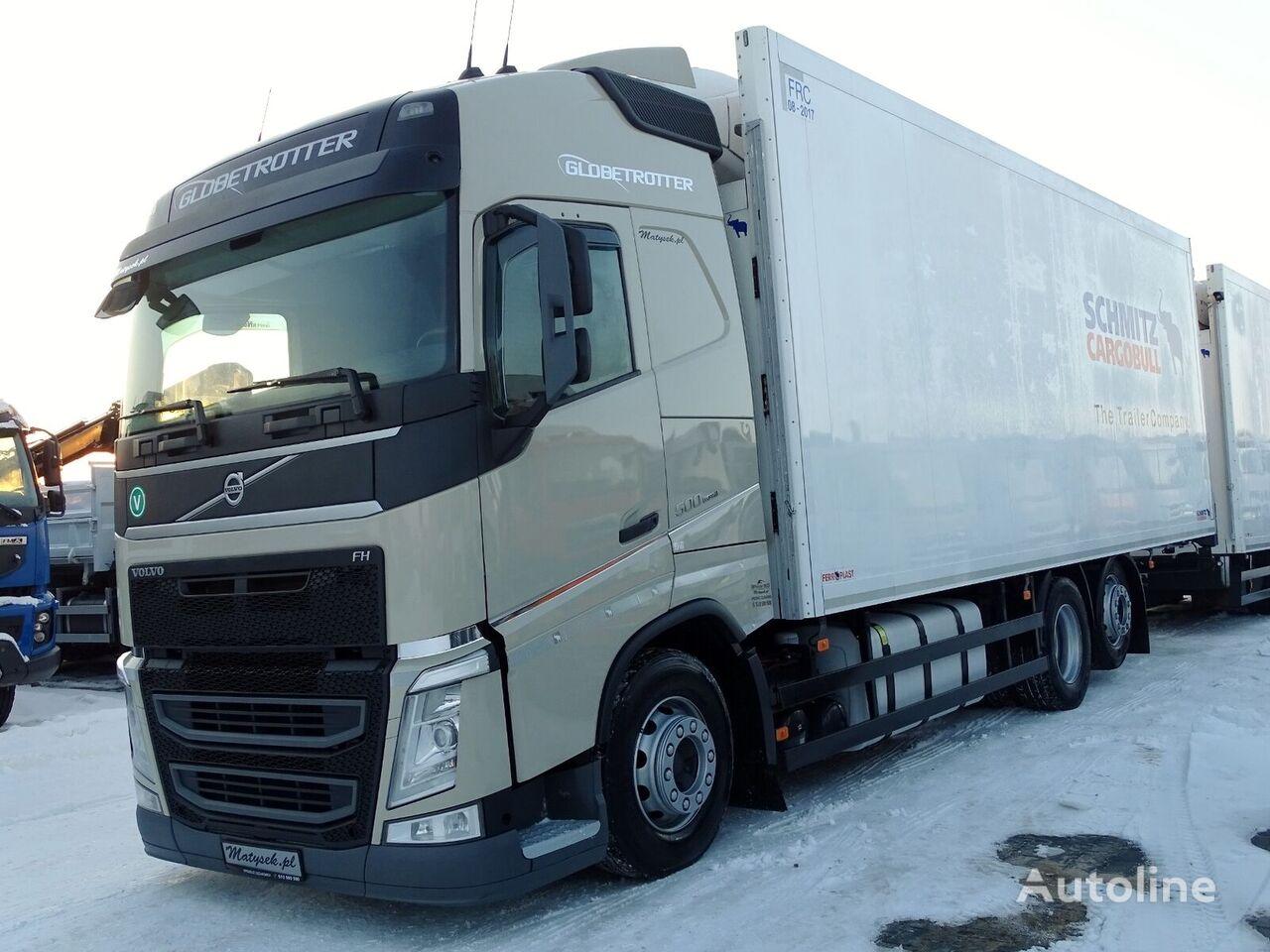 VOLVO FH 500 / 6X2 / REFRIDGERATOR / 20 PALLETS / SCHMITZ / THERMO KIN koelwagen vrachtwagen