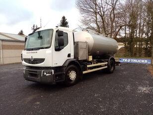 RENAULT citerne ETA alimentaire en inox 2 compartiments melkwagen
