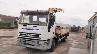 IVECO 120E15 EuroCargo Full Spring 8 Bolts Crane ==> 8.5 Long open laadbak vrachtwagen