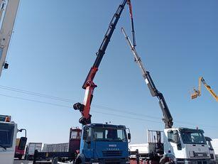 IVECO Trakker open laadbak vrachtwagen