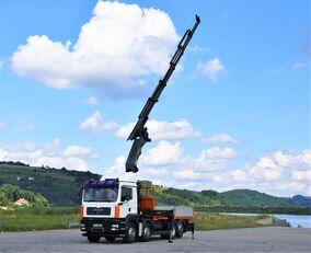 MAN TGA 35.440 Pritsche 6,20m + PK 44002 + FUNK ! open laadbak vrachtwagen