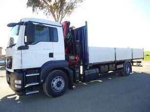 MAN TGS 18 320 open laadbak vrachtwagen