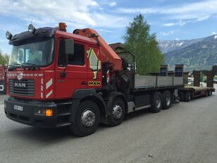 MAN VFL 32.464 open laadbak vrachtwagen