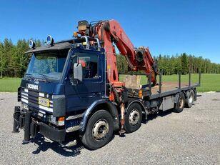 SCANIA P 113 H open laadbak vrachtwagen