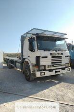 SCANIA P93 H 250 left hand drive 6X2 10 tyres 26 ton air con open laadbak vrachtwagen