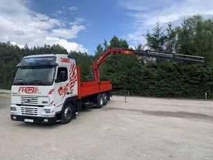 VOLVO FH12 380 KM / 6X2 / SKRZYNIA 6.60 M + ŻURAW HMF / UDŹWIG 4100 KG open laadbak vrachtwagen