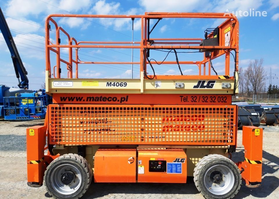 JLG 4069LE open laadbak vrachtwagen