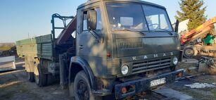 KAMAZ 5320+KRANAS open laadbak vrachtwagen