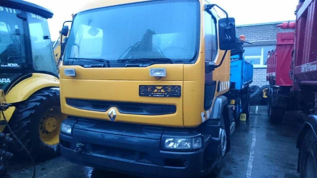 RENAULT PREMIUM 210 open laadbak vrachtwagen