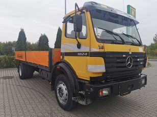 MERCEDES-BENZ SK 1824, Full blatt, 4.5 meter platte vrachtwagen