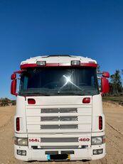 SCANIA R144 460 platte vrachtwagen