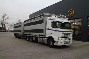 VOLVO FH12.480 6x4 pluimveetransport + bakwagen aanhanger