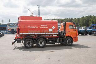 nieuw KAMAZ АЦ - 17 с насосом на шасси Камаз 65115-50 tank truck