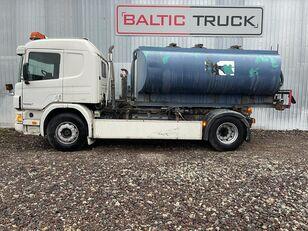 SCANIA P94-300, 4x2 HOOKLIFT + WATER TANK tank truck