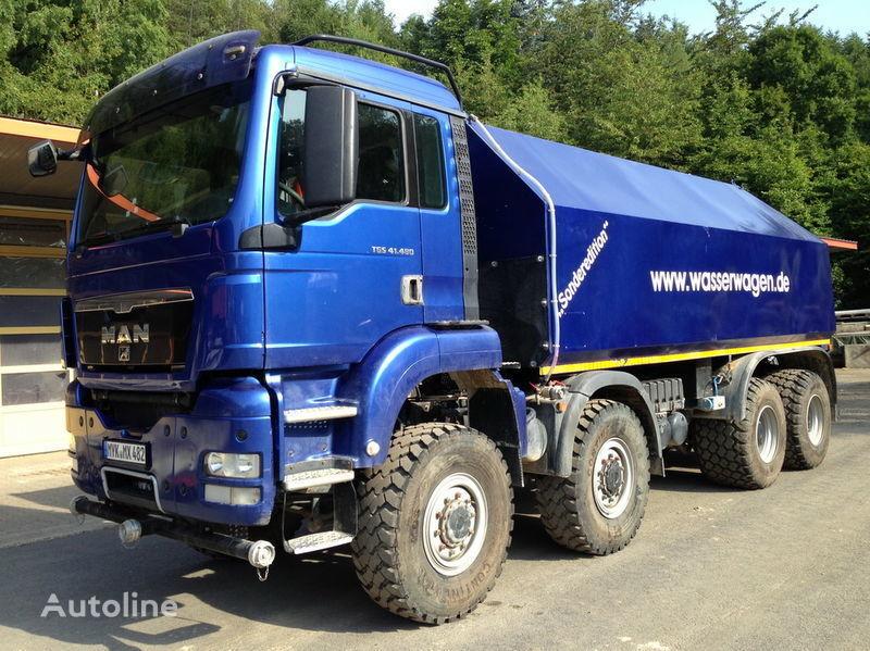 MAN TGS 41.480  tank truck