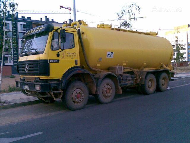 MERCEDES-BENZ 3534 K tank truck