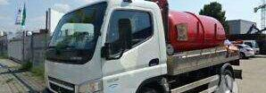 MITSUBISHI CANTER 7C15 tank truck
