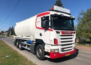 SCANIA R 500 SILOS -PASZOWÓZ -PELET ZBOŻE truck silo