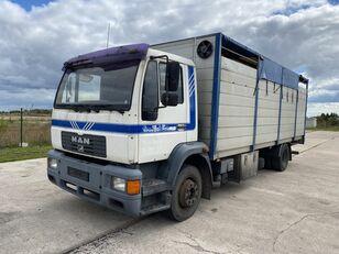 MAN 14.224 4x2 Animal transport veewagen vrachtwagen