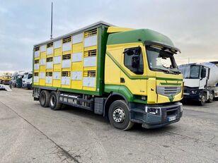 Beschadigde RENAULT PREMIUM 460  veewagen vrachtwagen