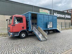 MAN TGL 8.210 BL  Menke , 2 x AHK , TOP,  Tier, Viehtransporter veewagen vrachtwagen