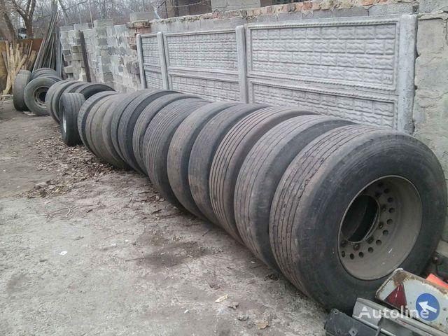 Michelin Bridgestone, Dunlop, Sava  385/65 R 22.50 vrachtwagenband